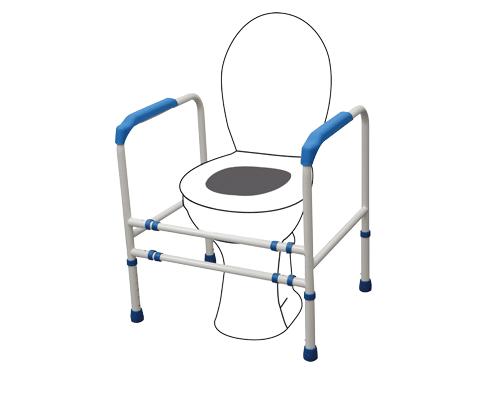 cadre de toilettes